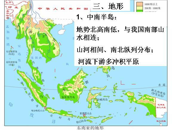 商务星球版七下7.1东南亚(共27张ppt)